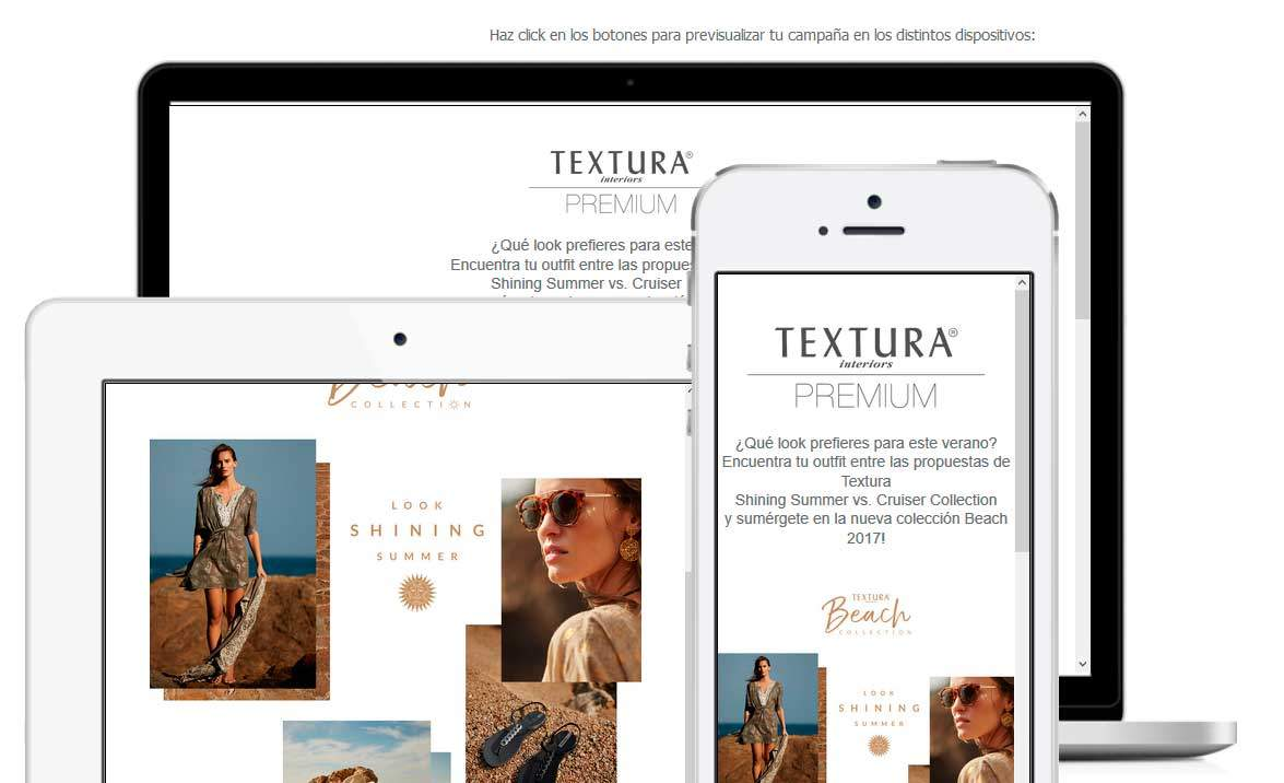 Plantillas Newsletter Textura