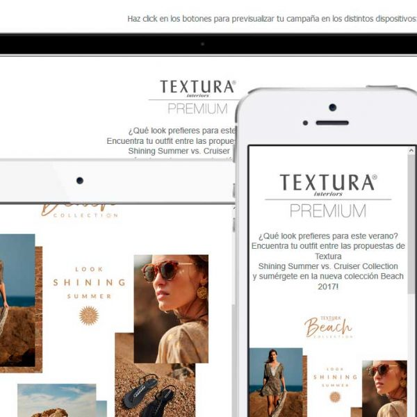 Plantillas Newsletter Textura
