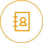Desarrollo de listas de contactos y formularios