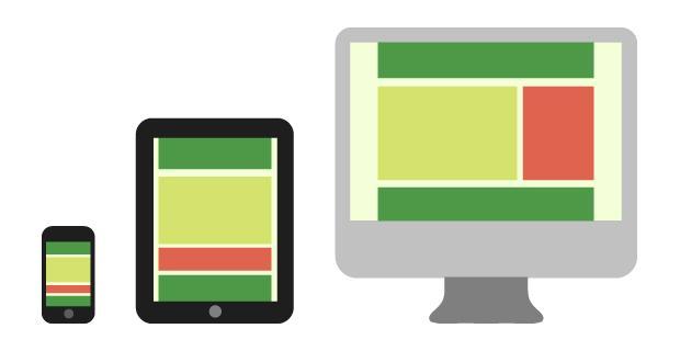 Plantillas de newsletters para distintos dispositivos